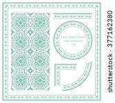 Vintage Frame Pattern Set 236...