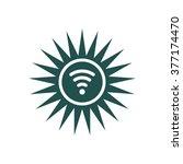 wifi icon vector flat design