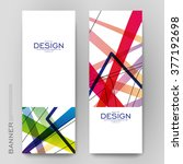 beautiful banner vector... | Shutterstock .eps vector #377192698