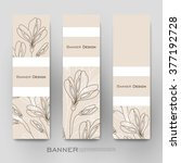 beautiful banner vector... | Shutterstock .eps vector #377192728