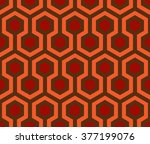 Seamless Hexagon Vector Pattern.