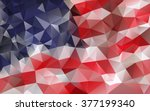 Cool American Flag Abstract...