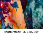 colorful abstraction  fragment  ... | Shutterstock . vector #377207659