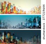 city landscape | Shutterstock . vector #377219644