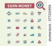 earn money  payment  online... | Shutterstock .eps vector #377224504