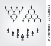 networks  connections  social ...   Shutterstock .eps vector #377228836