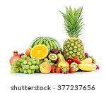 ripe fresh fruit. wholesome... | Shutterstock . vector #377237656