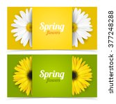 Bright Spring Banners Design....