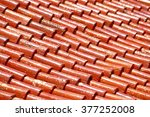 decorative chinese style roof   Shutterstock . vector #377252008