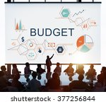 budget capital finance economy... | Shutterstock . vector #377256844