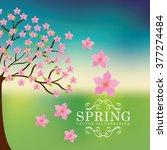 spring season design    Shutterstock .eps vector #377274484