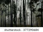 3d landscape illustration of a... | Shutterstock . vector #377290684