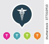 very useful editable medical... | Shutterstock .eps vector #377310910