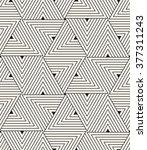 vector seamless pattern. modern ... | Shutterstock .eps vector #377311243