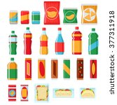 Fast Food Snacks And Drinks...
