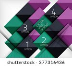 vector square abstract... | Shutterstock .eps vector #377316436