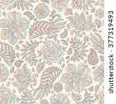 Abstract Vector Floral Seamless ...