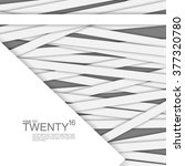geometric lines design... | Shutterstock .eps vector #377320780