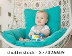 Portrait Of A Beautiful Baby O...