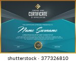 certificate template with