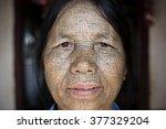 kanpetlet  myanmar  december 10 ... | Shutterstock . vector #377329204
