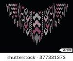 sequins embellishment design | Shutterstock .eps vector #377331373