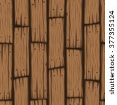 vector wooden block seamless... | Shutterstock .eps vector #377355124