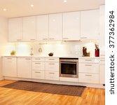 interior of a kitchen | Shutterstock . vector #377362984