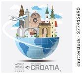 republic of croatia landmark...