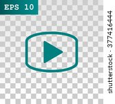 video icon  vector illustration | Shutterstock .eps vector #377416444