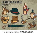 set of vector illustrations for ... | Shutterstock .eps vector #377416780