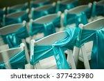 outdoor wedding chairs | Shutterstock . vector #377423980