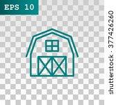 hangar icon | Shutterstock .eps vector #377426260