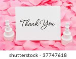 an invitation and wedding cakes ...   Shutterstock . vector #37747618