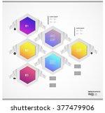 infographic design vector... | Shutterstock .eps vector #377479906