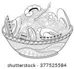 Seafood Pasta Coloring Book...