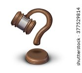 legal questions concept or... | Shutterstock . vector #377529814