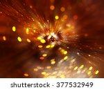 abstract orange background.... | Shutterstock . vector #377532949