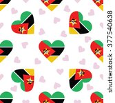 mozambique independence day... | Shutterstock .eps vector #377540638