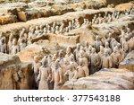 xi'an  shaanxi province  china  ... | Shutterstock . vector #377543188