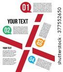 infographic design layout | Shutterstock .eps vector #377552650