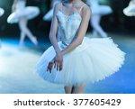 Hands Of Ballerinas. Ballet...