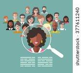 vector illustration concept of... | Shutterstock .eps vector #377611240