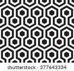 Seamless hexagon vector pattern | Shutterstock vector #377643334