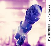 microphone for sound  music ...   Shutterstock . vector #377651128