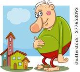 cartoon vector illustration of...   Shutterstock .eps vector #377653093
