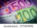 Euro Banknotes. 500 Euro...
