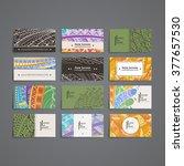 set of vector design templates. ...   Shutterstock .eps vector #377657530