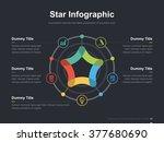 flat business presentation... | Shutterstock .eps vector #377680690