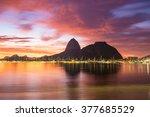 Sunrise View Of Rio De Janeiro...